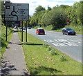 ST2997 : Cwmbran Drive heads south towards Pontrhydyrun by Jaggery