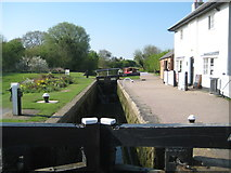 SP6989 : Grand Union Canal: Leicester Section: Foxton Top Lock by Nigel Cox
