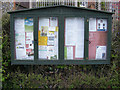 TG1130 : Corpusty & Saxthorpe Village Notice Board by Adrian Cable