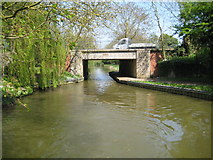 SP7288 : Grand Union Canal: Market Harborough Arm: Uncle Tom's Bridge by Nigel Cox