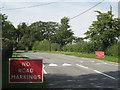 SP1167 : Ullenhall Lane resurfaced by Robin Stott