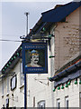 TM2993 : Kings Head Public House sign by Adrian Cable
