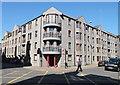 NJ9306 : Student flats (site of Charlotte Street UF Church) by Bill Harrison