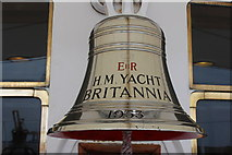 NT2677 : Royal Yacht Britannia's Bell by Billy McCrorie