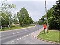 TM3489 : B1062 Hillside Road East & Mayfair Road Postbox by Adrian Cable