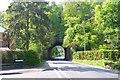 SU4833 : Railway Bridge over Springvale Road by Mike Smith