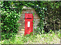 TM2390 : Victorian postbox at Shelton Green by Evelyn Simak