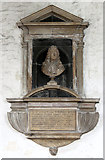 TQ3581 : St Dunstan & All Saints, Stepney - Wall monument by John Salmon