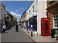 ST6316 : Sherborne: looking up Cheap Street by Chris Downer