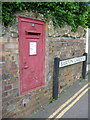 ST6216 : Sherborne: postbox № DT9 63, Barton Gardens by Chris Downer