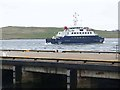HU4741 : Bressay Ferry by Oliver Dixon