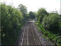 TA2609 : Railway heading west from Grimsby by JThomas