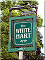 SU8848 : The White Hart sign by Oast House Archive