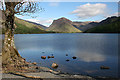 NY1716 : Buttermere in Sunshine by Anne Burgess