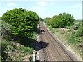 TQ3317 : Railway near Burgess Hill by Malc McDonald