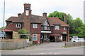 TL2518 : The Chequers Inn, Woolmer Green by Chris Reynolds