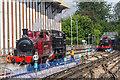 SU9698 : Steam on the Met, Amersham, Buckinghamshire by Christine Matthews