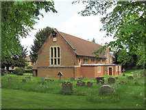 TL2518 : St Michael and All Angels, Woolmer Green by Chris Reynolds