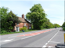 TL2460 : House near to White Hall on the A428 by Bikeboy
