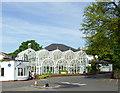 SP0485 : Birmingham Botanical Gardens Entrance Buildings by Roger  Kidd