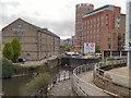 SE2933 : River Aire, Leeds Centre by David Dixon