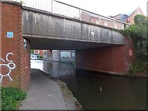 SO8554 : Bridge 2 on Birmingham and Worcester canal by David Smith