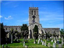 SP7006 : St Mary the Virgin church by Mark Percy