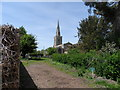 TL2166 : St Peter's Church, Offord D'Arcy by Bikeboy