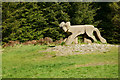 SD3495 : Beast of Grizedale Forest by Peter Trimming