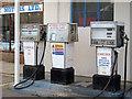 TM0816 : Fuel pumps, Brightlingsea Marina by Roger Jones