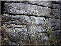 SD4878 : Carved inscriptions near Fairy Steps by Karl and Ali