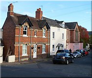 SO5923 : Alton Street houses, Ross-on-Wye by Jaggery