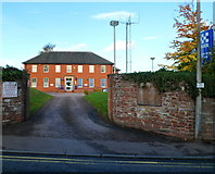 SO5923 : Ross-on-Wye police station by Jaggery