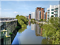 SE2933 : River Aire from Princes Square by David Dixon