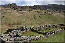NY2101 : Roman Bath House with a View by Anne Burgess