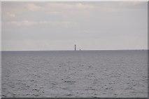 SX3833 : English Channel : Ocean & Eddystone Lighthouse by Lewis Clarke