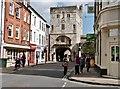 SE6052 : Monk Bar,  as viewed from Goodramgate.York by Derek Voller