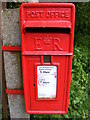 TM1540 : Blacksmith's Cottage Postbox by Adrian Cable