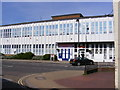 TM3863 : Royal Mail Sorting Office & Christies Care by Geographer