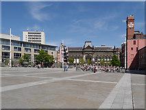 SE2934 : Leeds, Millennium Square by David Dixon
