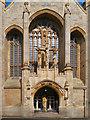 SE2933 : Leeds Cathedral, West Door by David Dixon
