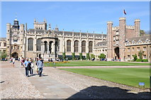 TL4458 : The Great Court, Trinity College by Philip Halling