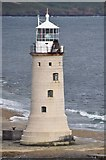 SX4650 : Plymouth Sound : Plymouth Breakwater Lighthouse by Lewis Clarke