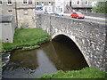 NT2540 : Old Town Bridge over Eddleston Water by Stanley Howe
