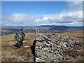 NH5174 : 'Cairn' on Meall Mòr by Trevor Littlewood