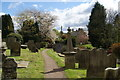 NU0611 : The churchyard of St Bartholomew's, Whittingham by Bill Boaden