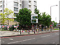 TQ4378 : Tributes to Lee Rigby on the corner of Rectory Place by Stephen Craven