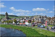 NT2540 : Tweedlove Cycle festival, Peebles by Jim Barton