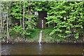 NT2540 : River gauging station, Peebles by Jim Barton