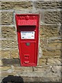 NU1328 : Victorian post box, Warenford by Graham Robson